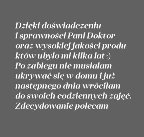 Metamorfoza Pani Agnieszki